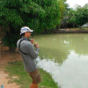 Amazon fishing park Pattaya
