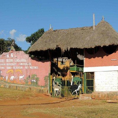 Entry Gate on Kapenguria Road
