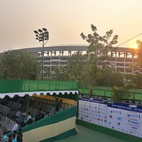 Salt Lake stadium from bengal tennis association