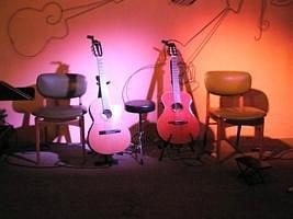 Las guitarras de los Maestros en escena