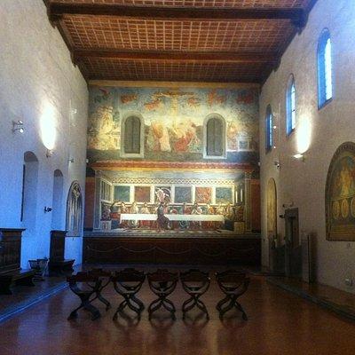 Refettorio col Cenacolo di Andrea del Castagno