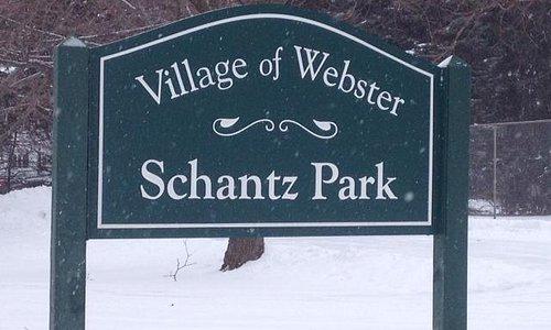 Park sign post