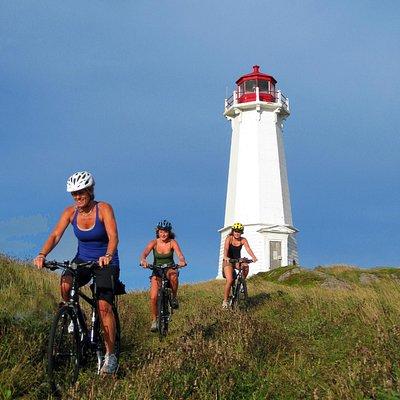 Nova Scotian lighthouses make good side rides.