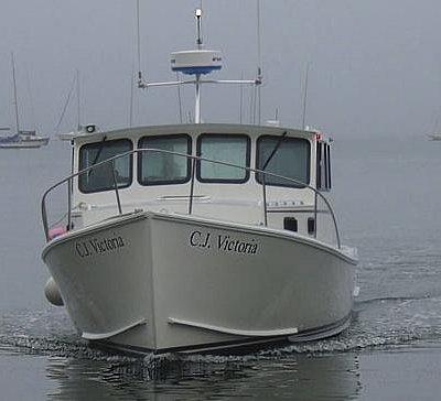 Boston Fishing Charters with C.J. Victoria