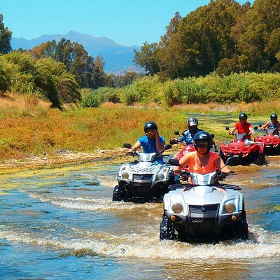 Quads Mountain and River go together for a great Family day in Marbella