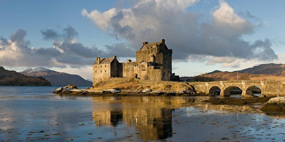 Eilean Donan Castle - day trip from Loch Ness Lodge