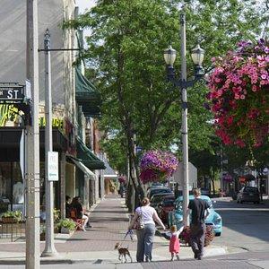 Downtown Kenosha, Wisconsin