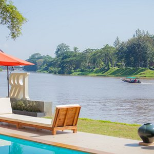 Amazing river views from every room