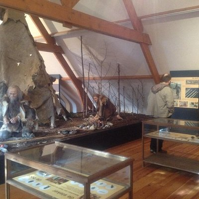 Inside de museum