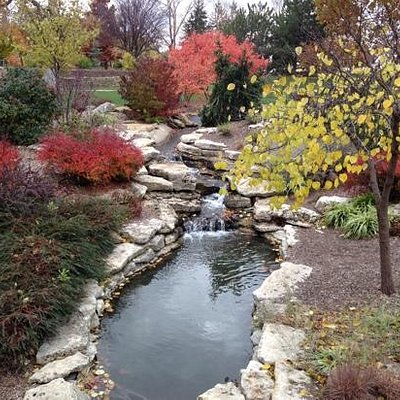 Ted Ensley Gardens at Lake Shawnee.