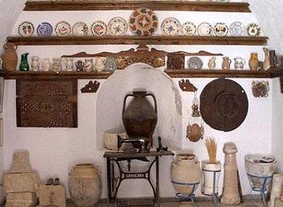 Folk art museum Menetes Karpathos