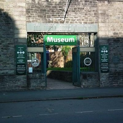 the museum from the front...