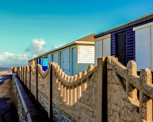 The Beach Huts looking North.