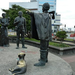 Denkmal zum Andenken an die ersten dt. Einwanderer in Chile