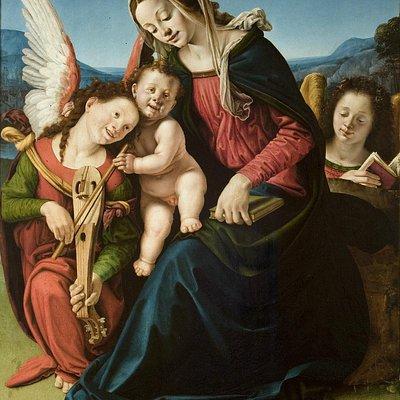Madonna con il Bambino e due angeli, Piero di Cosimo