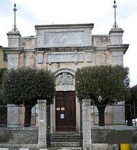 """la facciata """"liberty"""" della Biblioteca di Storia dell'Arte"""