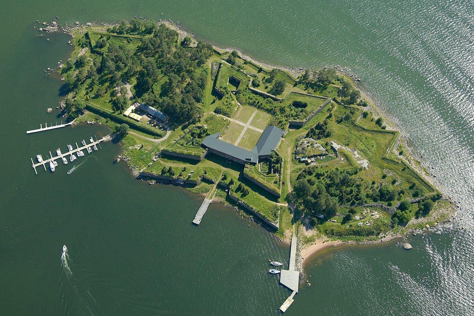 "Fortress ""Svartholma"" in Loviisa"