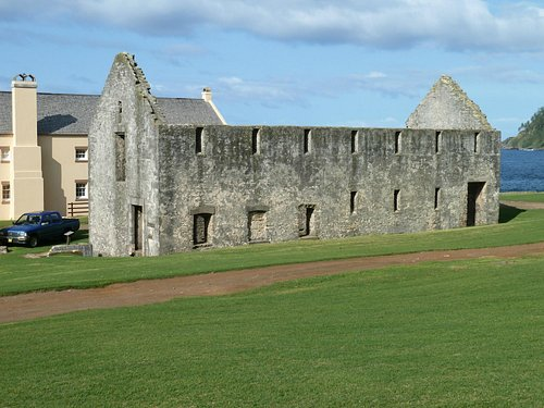 The Crankmill ruins