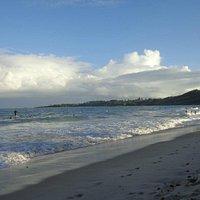 Foto da Praia de Itapuama, tirada no dia 2 de fevereiro de 2014.