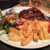 Big juicy steak