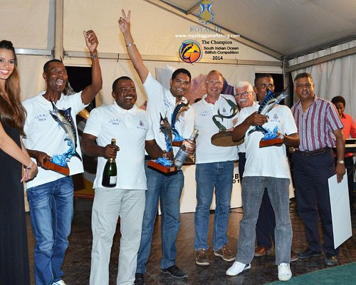 Royal III - Best Fishing Team in Mauritius - Champion of S.I.O.B.C - Prize Giving Ceremony