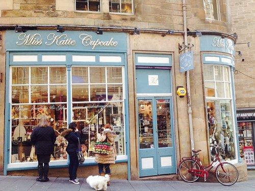 Miss Katie Cupcake shop front