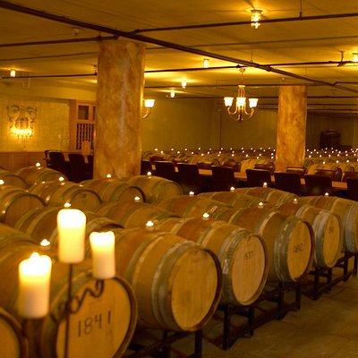 Underground Barrel Cellar