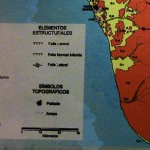 Geological map index