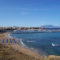 lungomare Terrasini: la spiaggia