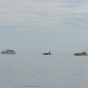 Other tour boats on the St-Lawrence