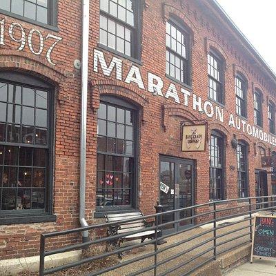 Marathon Village Building