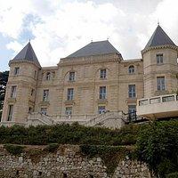 Château de la Buzine, vu depuis le parc