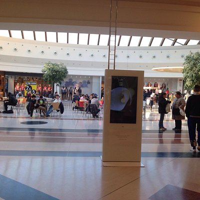 Inside the mall
