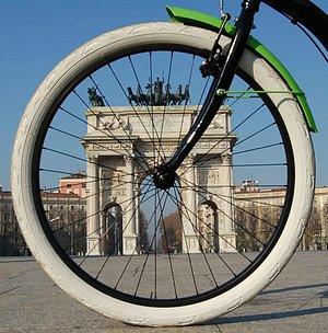 Milan by bike