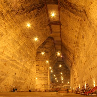 The Unirea Salt Mine