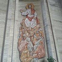 Mosaico nella chiesa sita in loc. Macelli a Pietrasanta