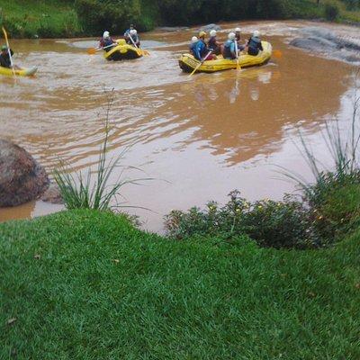 Rafting no Parque Monjolinho