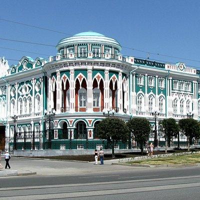 Дом Севастьянова со стороны улицы Ленина