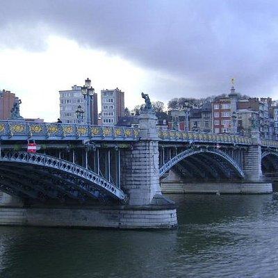 Puente de Fragnee, Lieja, Bélgica.