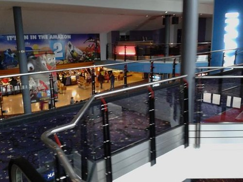 Cineworld, Centertainment, foyer area