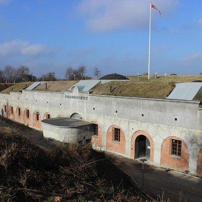 Front af fortet