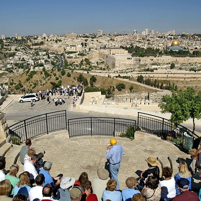 The view from the Mount of Olives