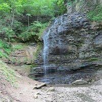 The Falls durning a dry season