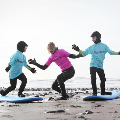 Board Games Surfing - family adventure at Newgale