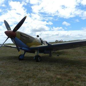 The Spitfire awaits...