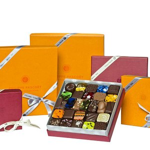 Assortiment de chocolats de Philippe Pascoët