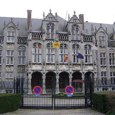 Palacio de los Principes-Obispos, Lieja, Bélgica.