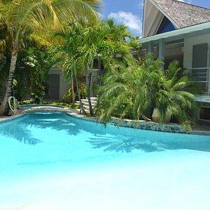 Pool de la résidence Adam et Eve