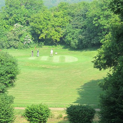 The 3rd hole a 185 yrds par 3 voted one of the top 10 holes in Hampshire