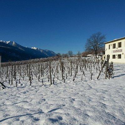 Il nostro fruttaio in inverno - The old farm house in winter